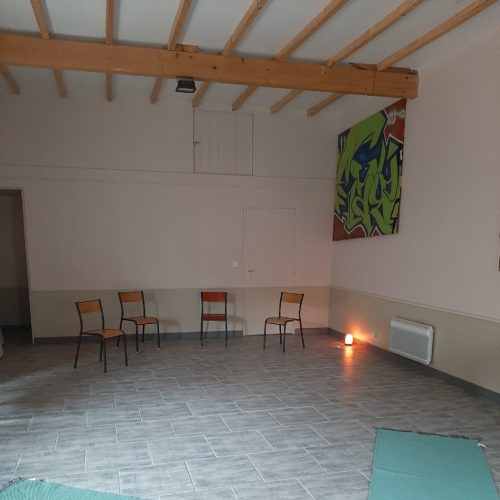 salle pour les ateliers